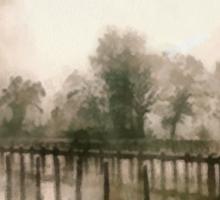 Misty Morning Sticker