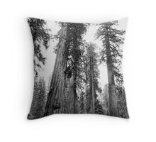 Among Giants Throw Pillow