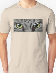 Cats Eyes Digital Painting Unisex T-Shirt
