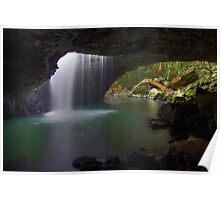 Natural Bridge Falls Poster
