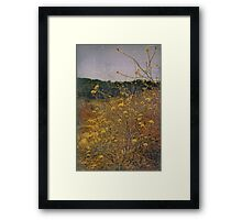 Standing In My Own Way Framed Print