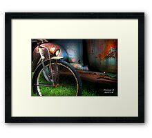 """TWO  RUSTY"" Framed Print"