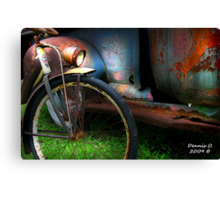 """TWO  RUSTY"" Canvas Print"