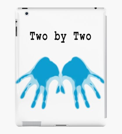Hands of Blue iPad Case/Skin