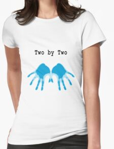Hands of Blue Womens Fitted T-Shirt