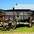 Texas Farm Wagon by Charles Buchanan