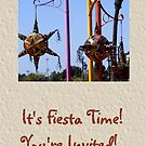 Fiesta Time Invitation by Marie Sharp