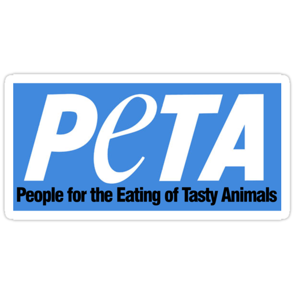 people for the eating of tasty animals by digerati