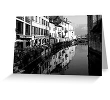 Al Fresco in Annecy Greeting Card