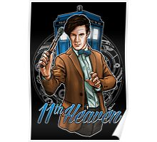 11th Doctor - Eleventh Heaven Poster