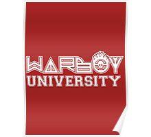 Warboy University Poster