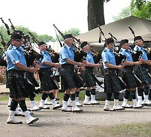 Och Aye, the Bagpipes by MarianBendeth