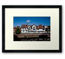 Canterbury Framed Print