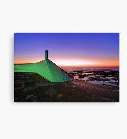 My Green Submarine Canvas Print