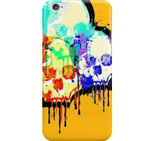 Skull Madness iPhone Case/Skin