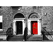 Dublin Doors Photographic Print