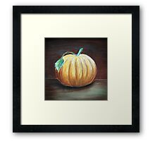Last Fruit of Fall Framed Print