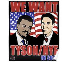 Tyson / Nye 2016 Poster