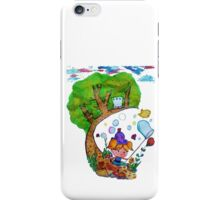 Bubble's Adventure iPhone Case/Skin