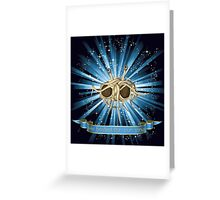 Flying Spaghetti Monster  Greeting Card