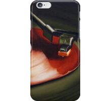Record Red iPhone Case/Skin