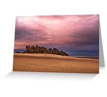 Colour Point,Point Roadknight,Great Ocean Road. Greeting Card