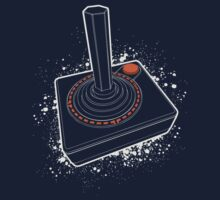 Atari Joystick III White One Piece - Long Sleeve