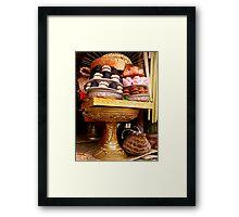 Offerings, Ubud, Bali Framed Print