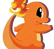 charmander. by scribblekisses