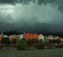 Storm in Innsbruck by Béla Török