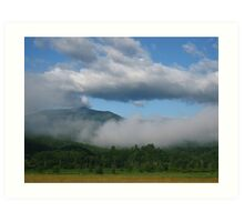 Low Morning Clouds Art Print