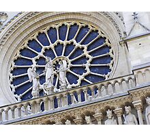 The Rose Window Photographic Print