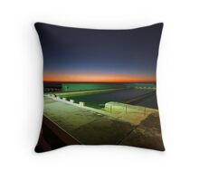 The United Colors of Newcastle Throw Pillow