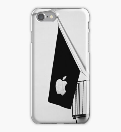 Apple Flag Flying in the Wind iPhone Case/Skin