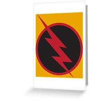 Reverse Flash Greeting Card