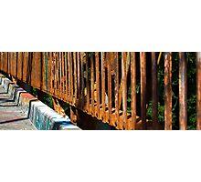 Rusty Railings Photographic Print