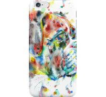 WATERCOLOR BOXER iPhone Case/Skin
