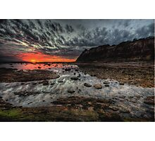 Meditation - Long Reef Aquatic Park , Sydney - The HDR Experience Photographic Print