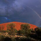 Rainbow Over The Rock by Joy & Rob Penney