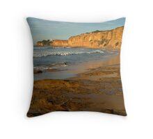 Morning, Split Point,Great Ocean Rd Throw Pillow