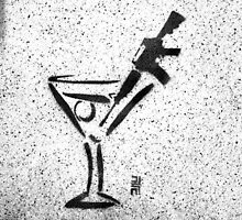 Stir the martini by Anthony Evans