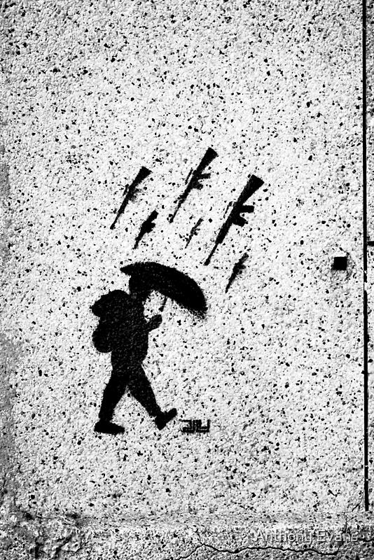It's Raining Guns, Hallelujah! by Anthony Evans