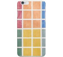 Washington DC Metro Colors iPhone Case/Skin