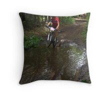 Mountainbike Flanders cup Eksel Belgium Throw Pillow