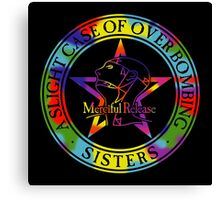 The Sisters Of Mercy - The Worlds End - A slight Case of Over Bombing Canvas Print