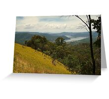 Lake Eildon Greeting Card