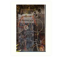 Bicycle Shop Window - Eddie Merckx Bikes Art Print