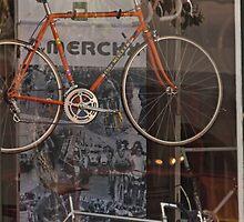 Bicycle Shop Window - Eddie Merckx Bikes by Buckwhite