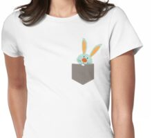 POCKET PALS :: bunny rabbit 2 Womens Fitted T-Shirt