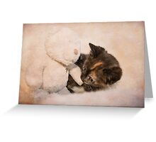 Seriously cute! Greeting Card